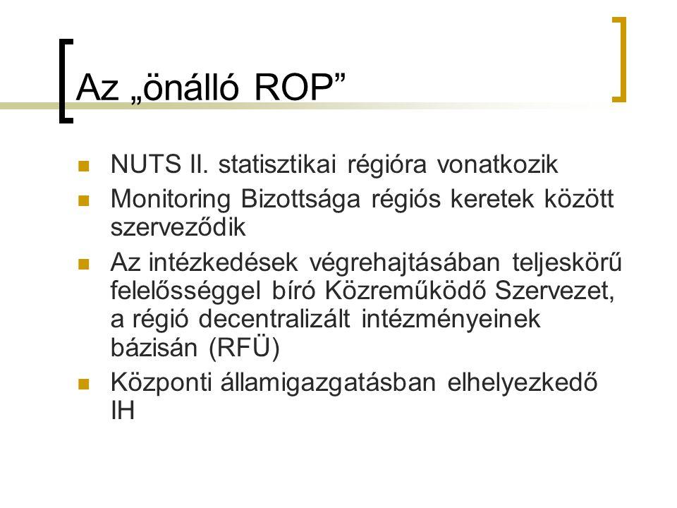 """Az """"önálló ROP NUTS II."""