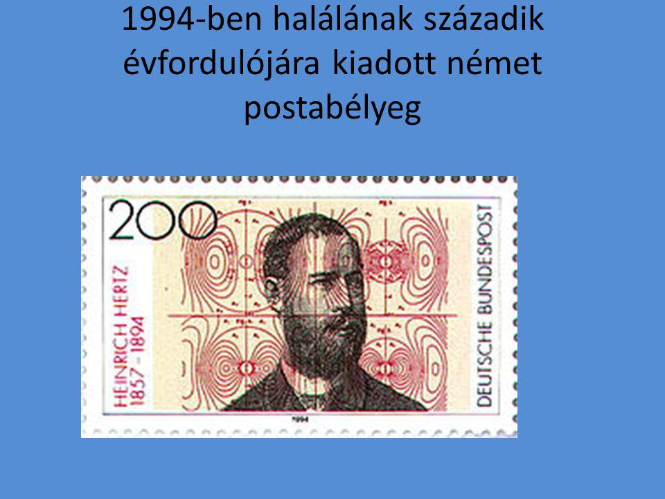 1994-ben halálának századik évfordulójára kiadott német postabélyeg