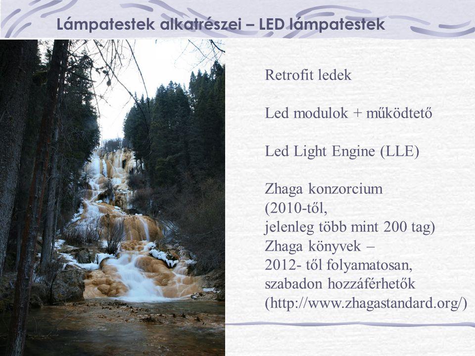 Lámpatestek alkatrészei – LED lámpatestek Retrofit ledek Led modulok + működtető Led Light Engine (LLE) Zhaga konzorcium (2010-től, jelenleg több mint