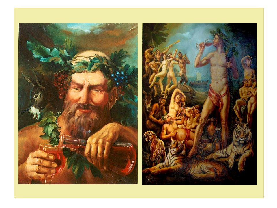 Mitológia, szőlő, bor