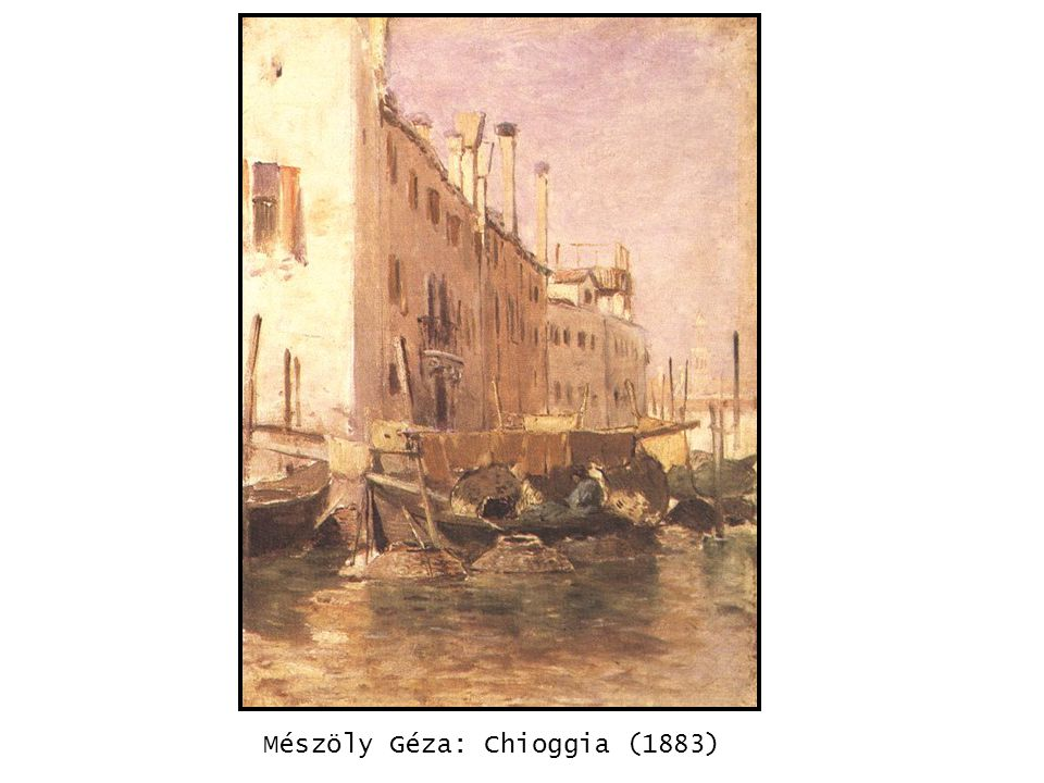 Mészöly Géza: Chioggia (1883) kép