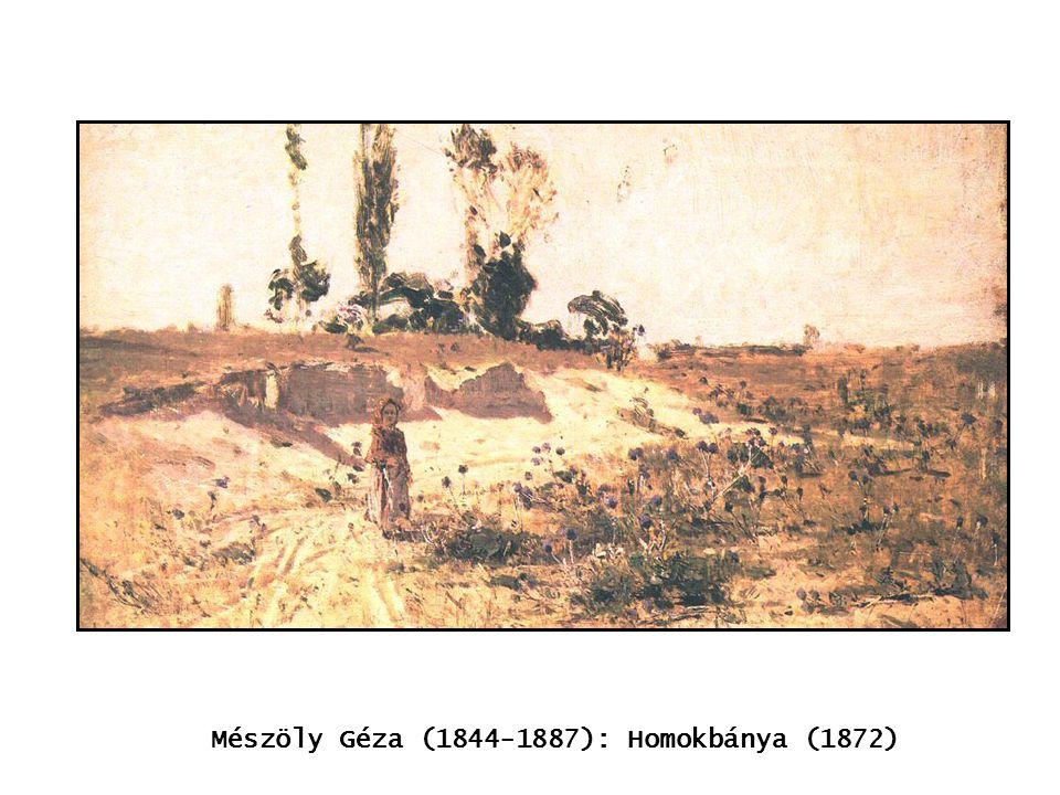 kép Mészöly Géza (1844-1887): Homokbánya (1872)
