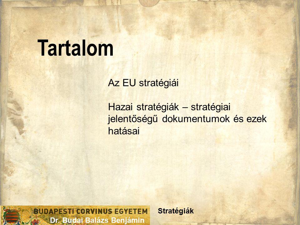 Tartalom Stratégiák Dr.