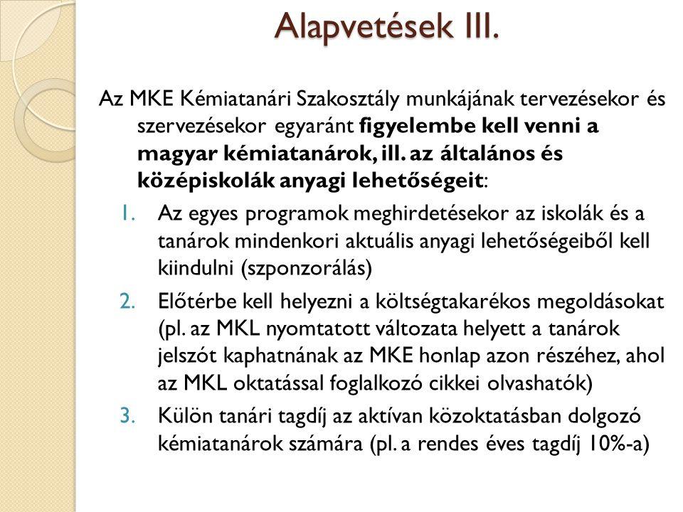 Alapvetések III.
