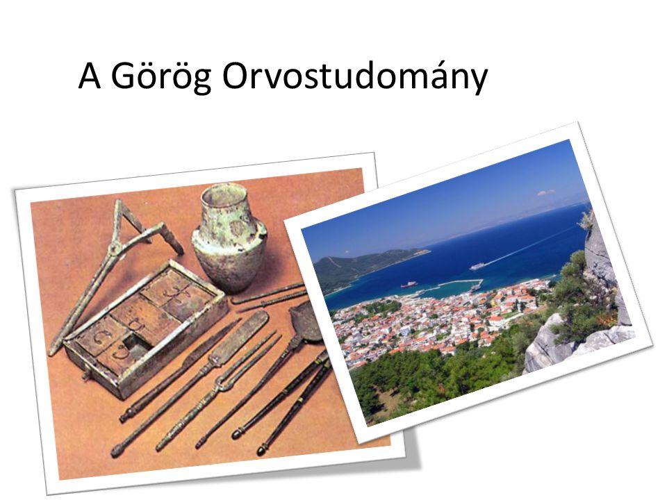 A Görög Orvostudomány