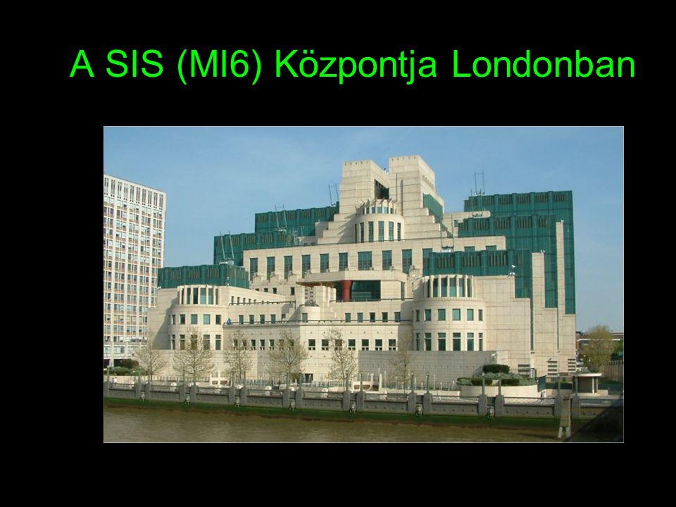 A SIS (MI6) Központja Londonban Épült 1995-ben (Tervező: Terry Farrell)