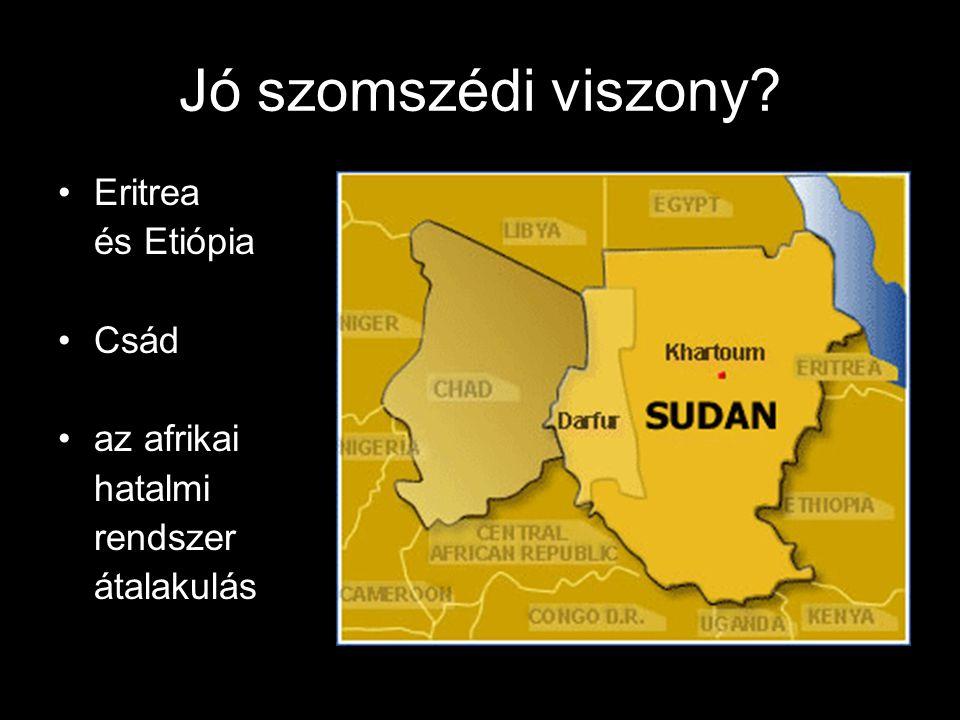 Jó szomszédi viszony Eritrea és Etiópia Csád az afrikai hatalmi rendszer átalakulás