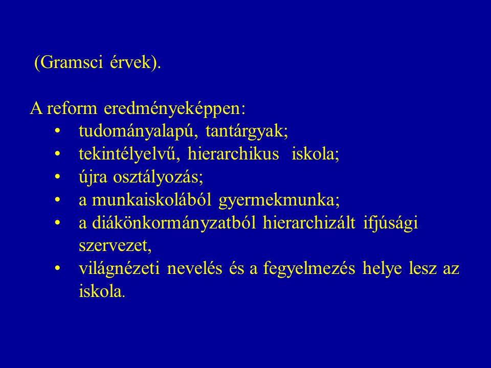(Gramsci érvek).