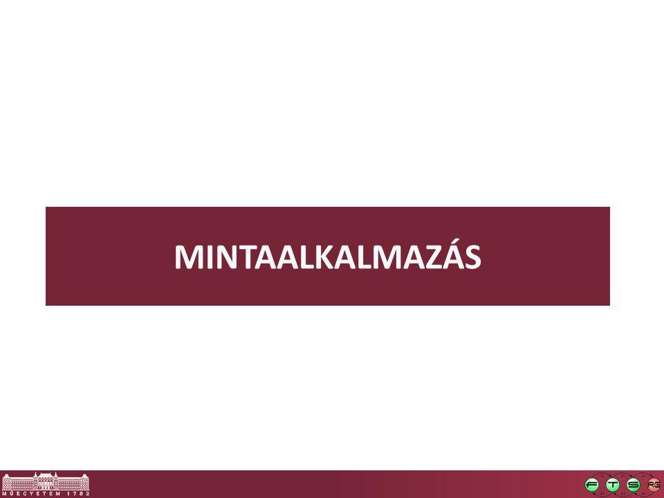 MINTAALKALMAZÁS