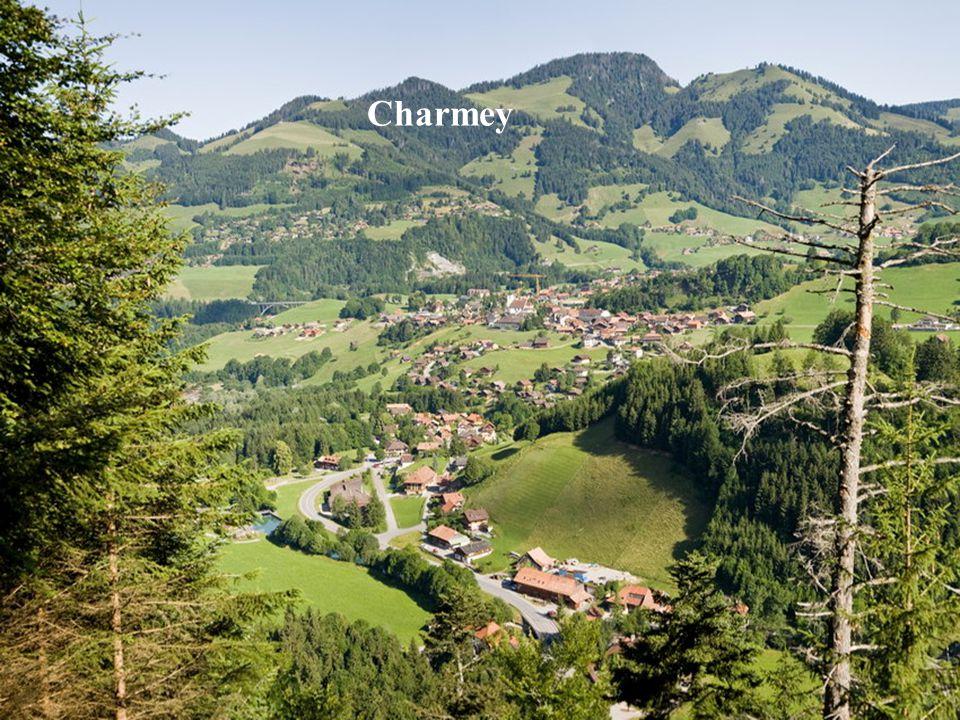 Charmey környéke Yardin