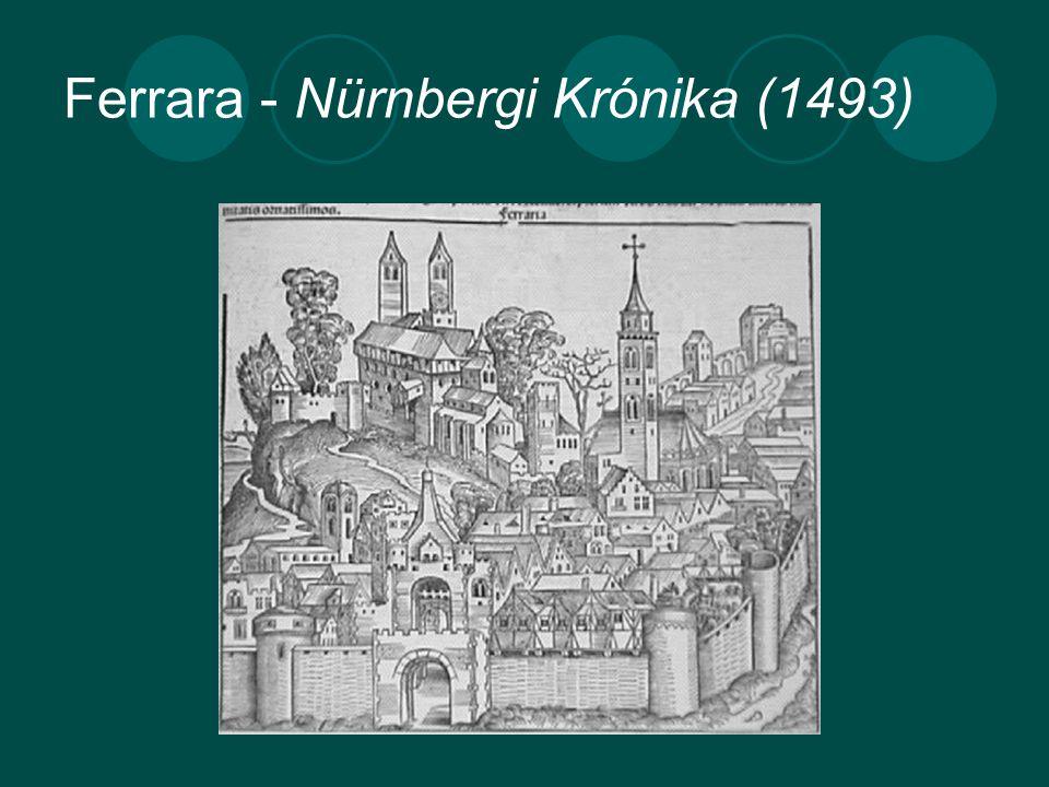 Ferrara - Nürnbergi Krónika (1493)