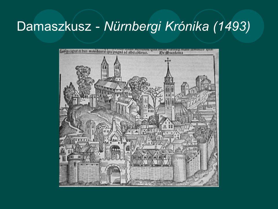Damaszkusz - Nürnbergi Krónika (1493)