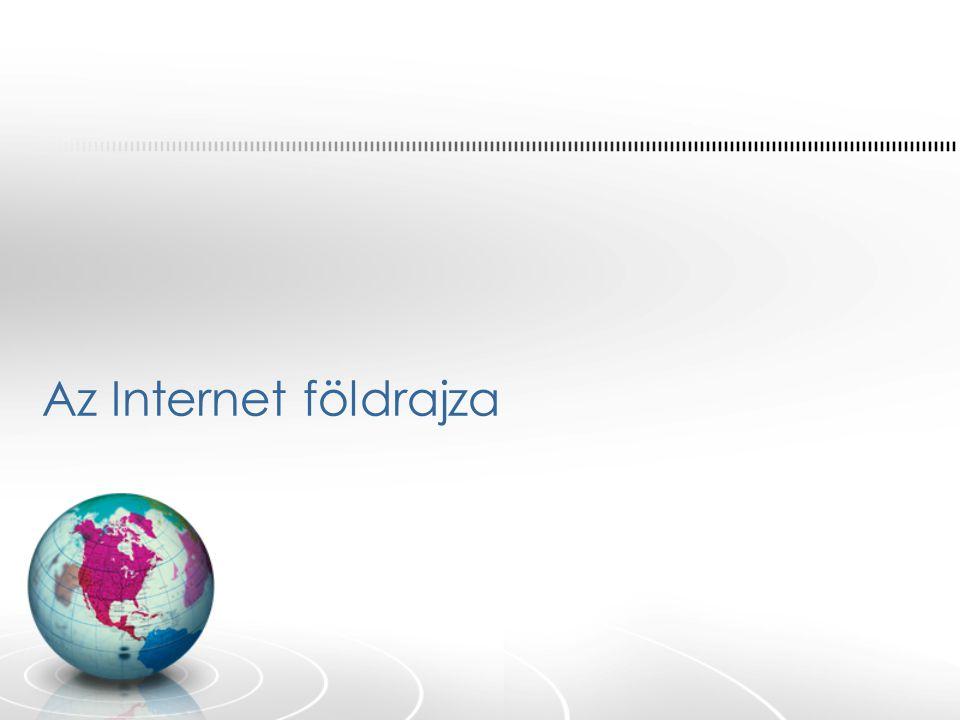 Az Internet földrajza