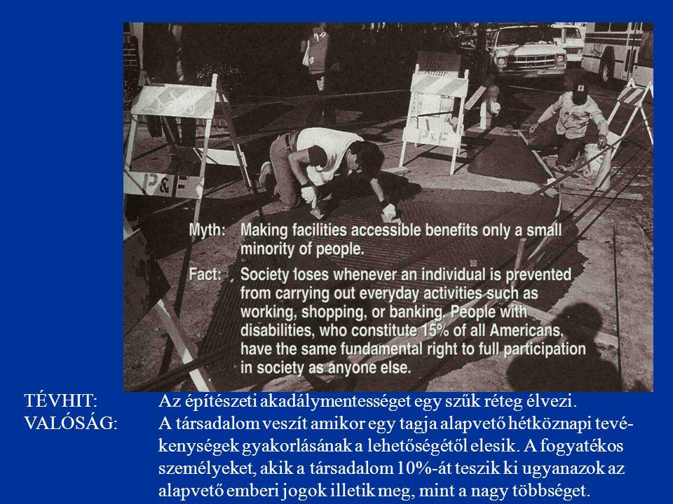 TÉVHIT: Az esélyegyenlőségi törvény megoldotta a tömegközlekedés akadálymentesítését.