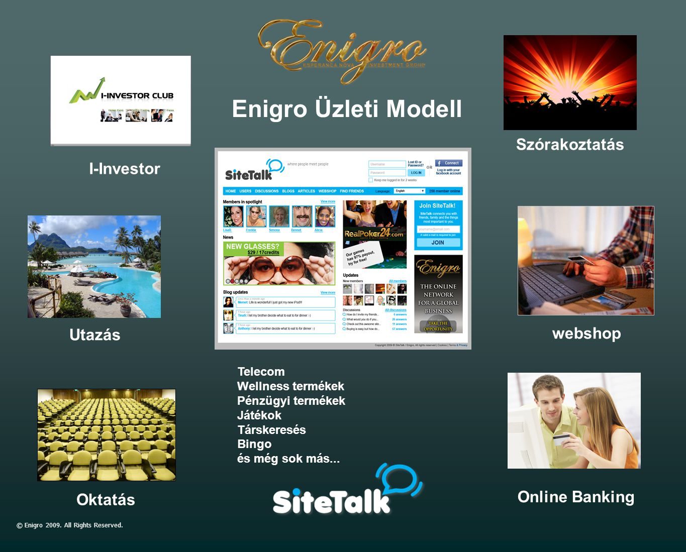 © Enigro 2009.All Rights Reserved.