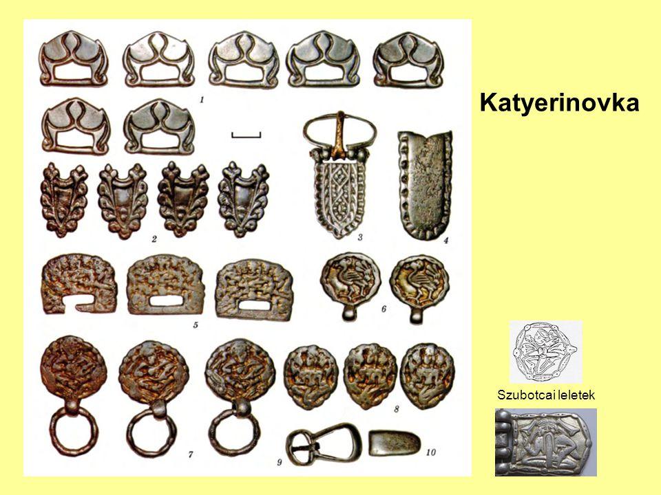 Katyerinovka Szubotcai leletek