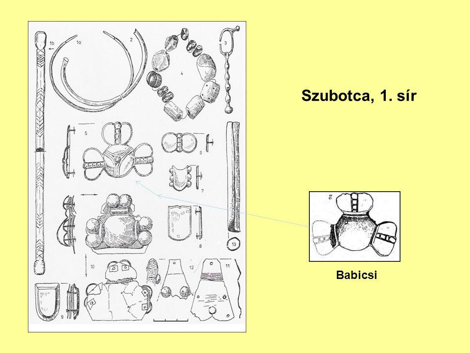 Szubotca, 1. sír Babicsi