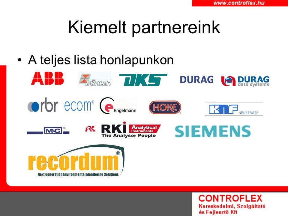 Kiemelt partnereink A teljes lista honlapunkon