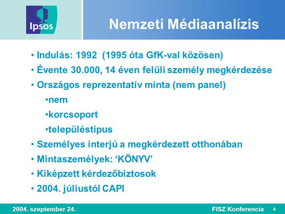 45 2004. szeptember 24.FISZ Konferencia Mozi