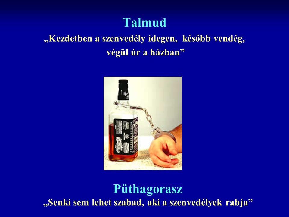 """Talmud """"Kezdetben a szenvedély idegen, később vendég, végül úr a házban"""" Püthagorasz """"Senki sem lehet szabad, aki a szenvedélyek rabja"""""""