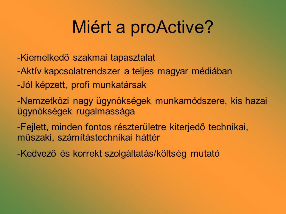 Miért a proActive.
