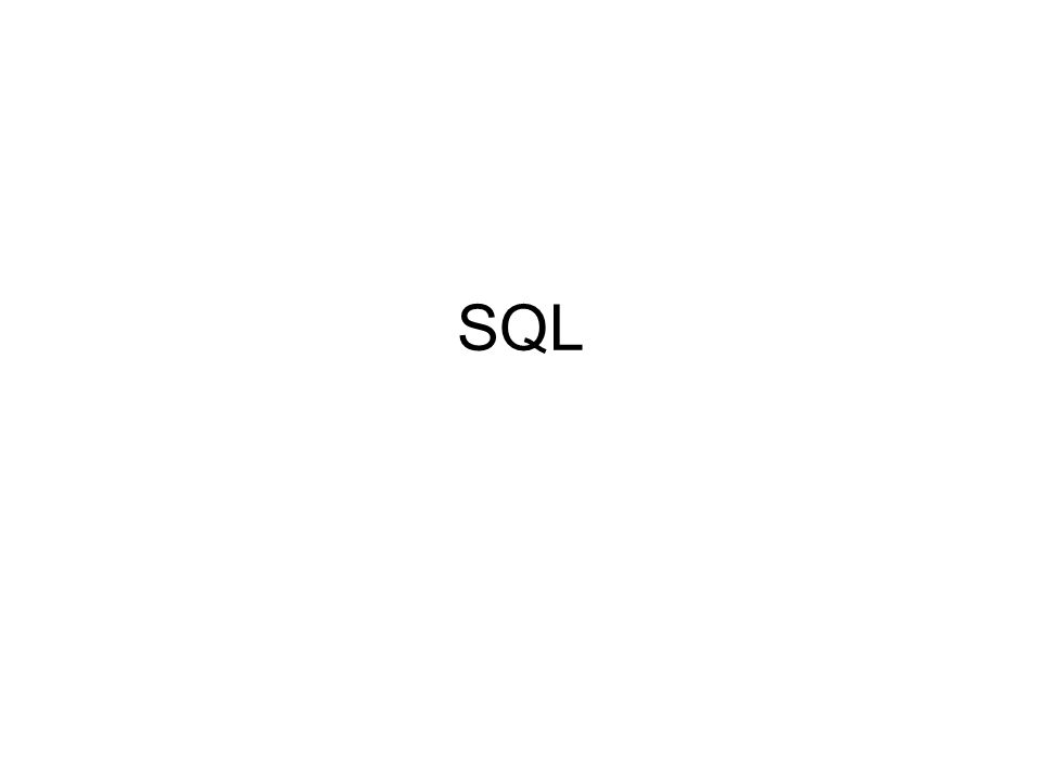 SQL szintaktikai és interaktív használati szabályai Utasítások –Alapszavak –Azonosítók –Kifejezések –Konstansok –Listák –Elválasztójelek Nyelv utasítási záradékokat használnak (használatuk nem mindig kötelező, de a sorrend kötött!)