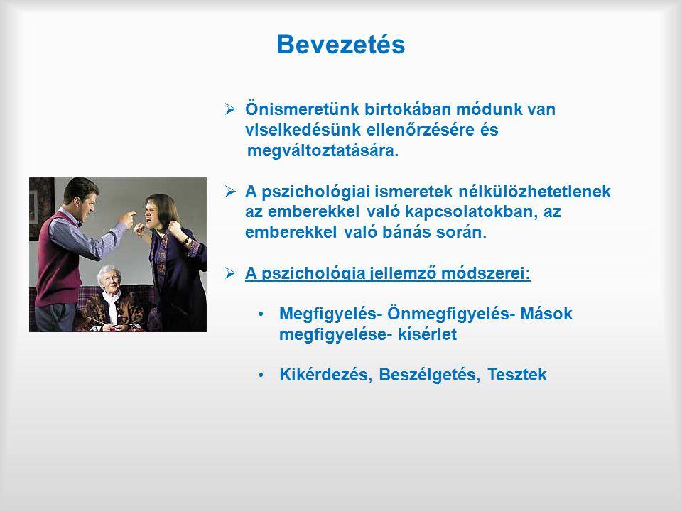 I/2.tétel: Ismertesse az ember tanulási, megismerő tevékenységének módjait és jellemzőit.