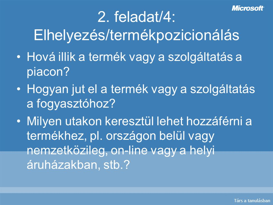 Társ a tanulásban 2.