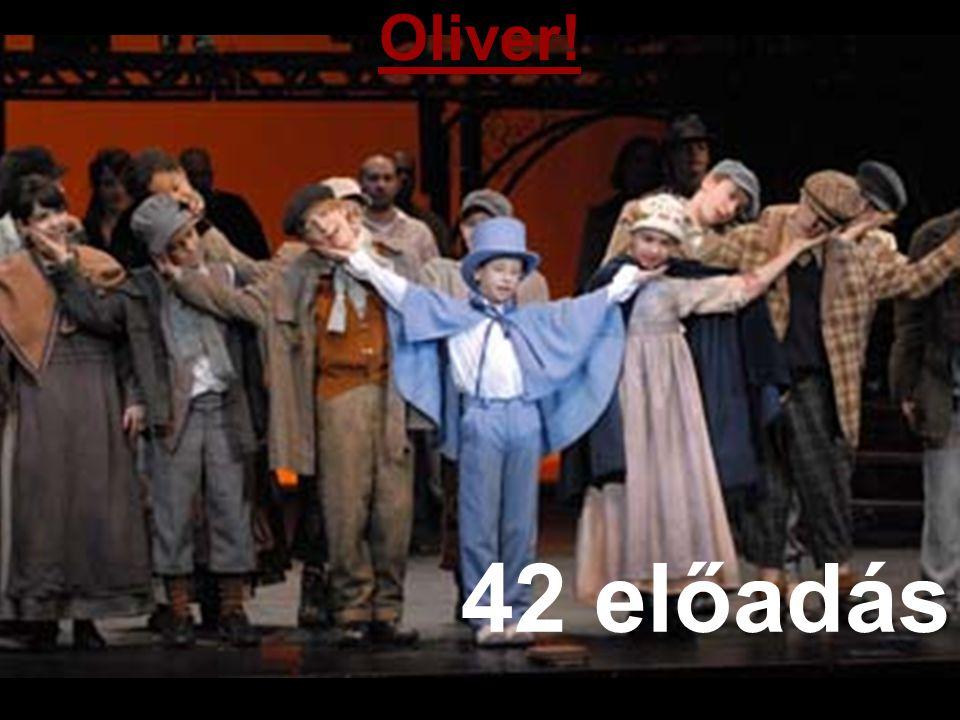 Oliver! 42 előadás