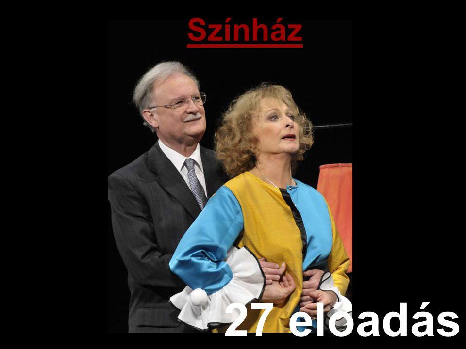 Színház 27 előadás