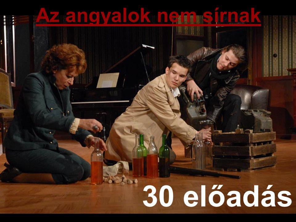 Az angyalok nem sírnak 30 előadás