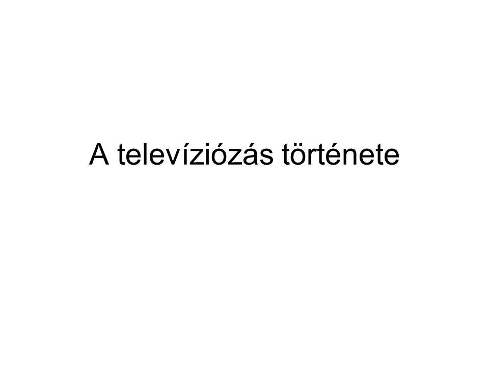 A televíziózás története