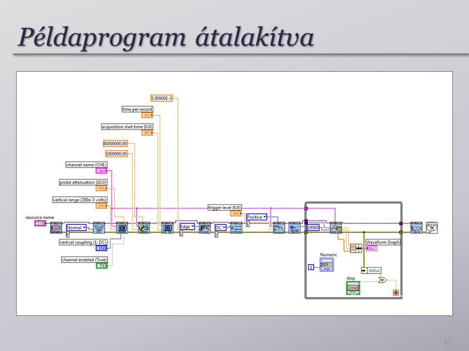 Példaprogram átalakítva 17