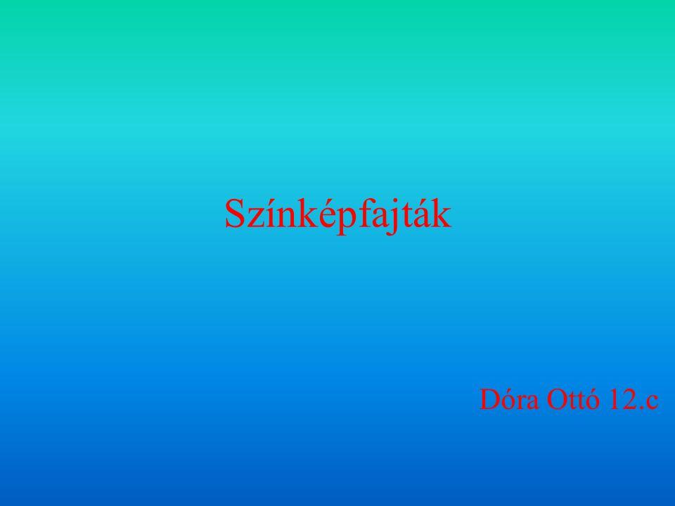 Színképfajták Dóra Ottó 12.c