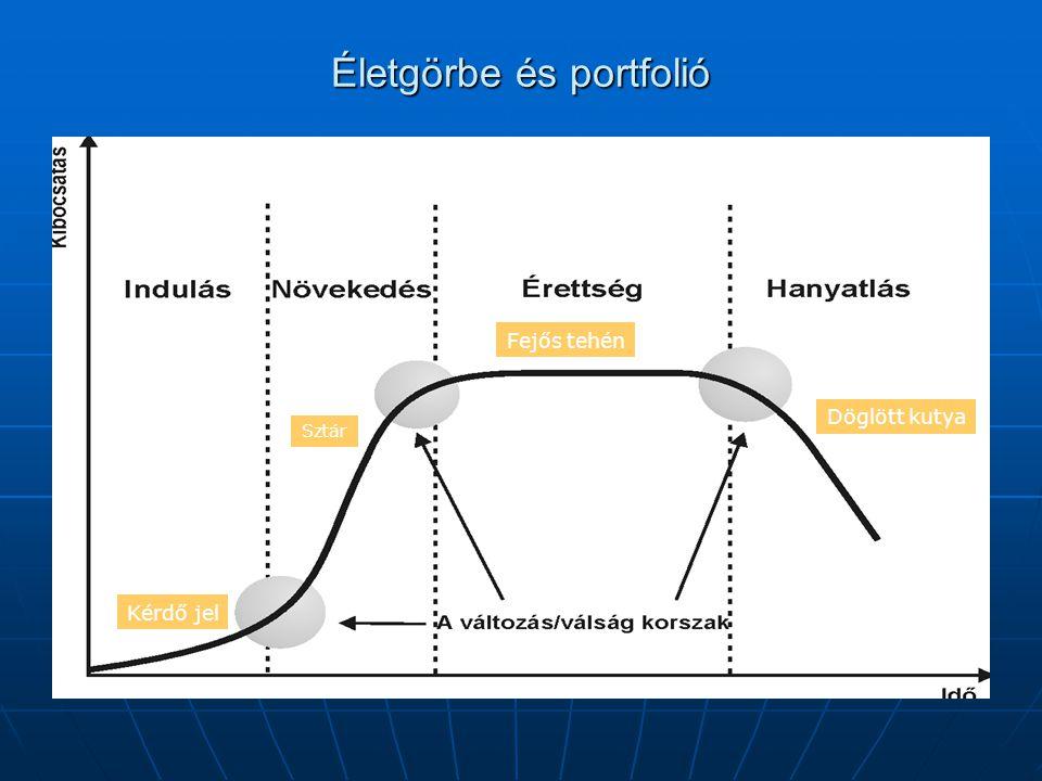 Kiegyensúlyozott, és kiegyensúlyozatlan portfolió A vállalatvezetés stratégiai döntéseit a portfolió egészének áttekintése alapozza meg.