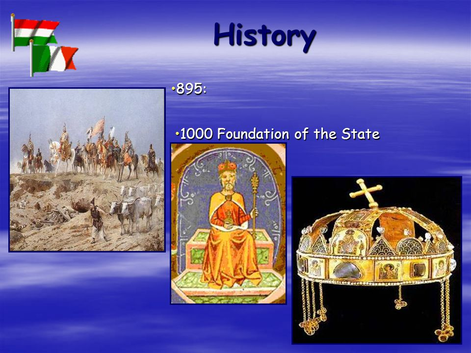 History 895:895: 1000 Foundation of the State1000 Foundation of the State