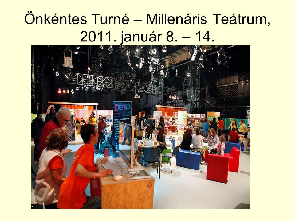 Önkéntes Turné – Millenáris Teátrum, 2011. január 8. – 14.