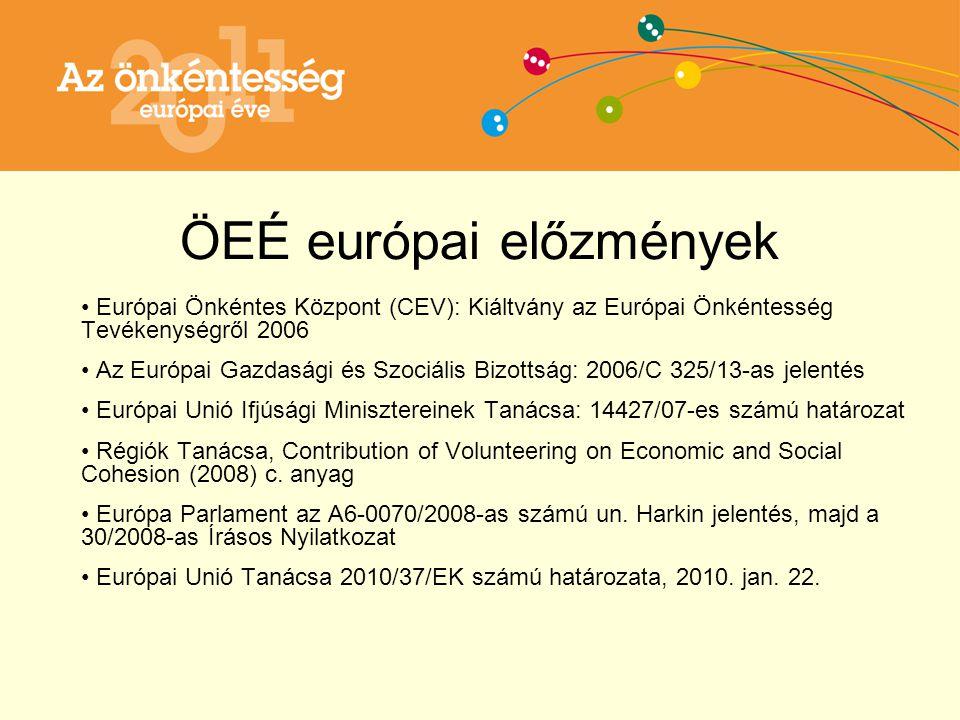 ÖEÉ - európai célok 1.