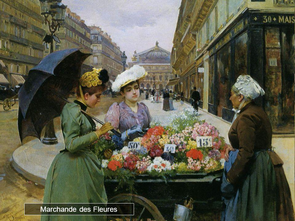 Marchande des Fleures