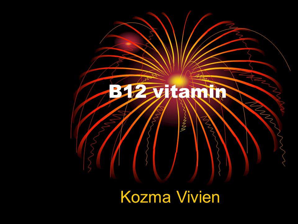 B12 vitamin Kozma Vivien