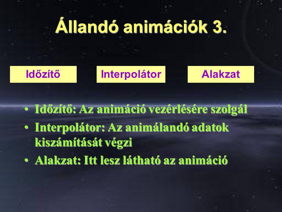 Állandó animációk 3.