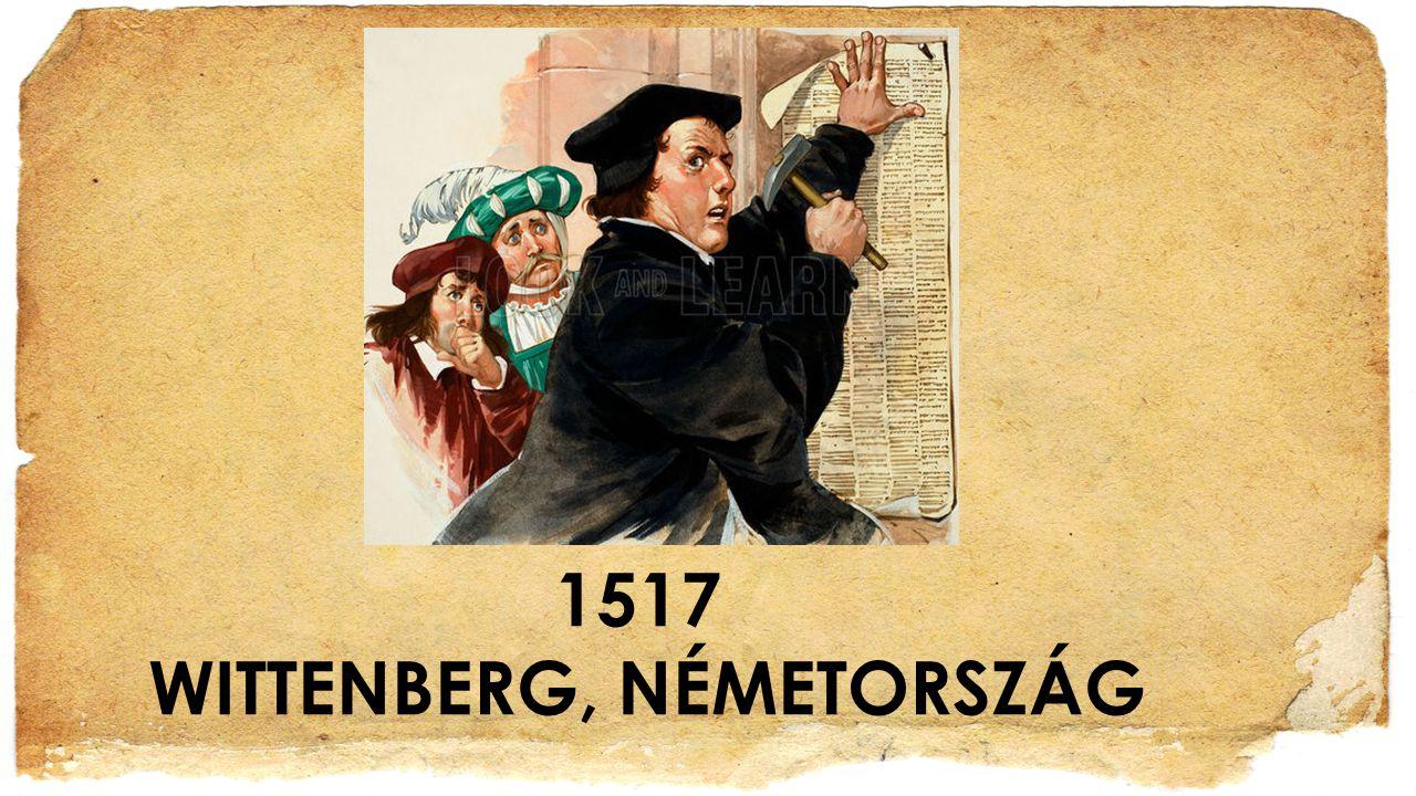 1517 WITTENBERG, NÉMETORSZÁG
