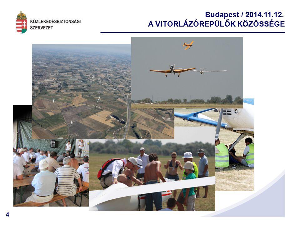 4 Budapest / 2014.11.12. A VITORLÁZÓREPÜLŐK KÖZÖSSÉGE