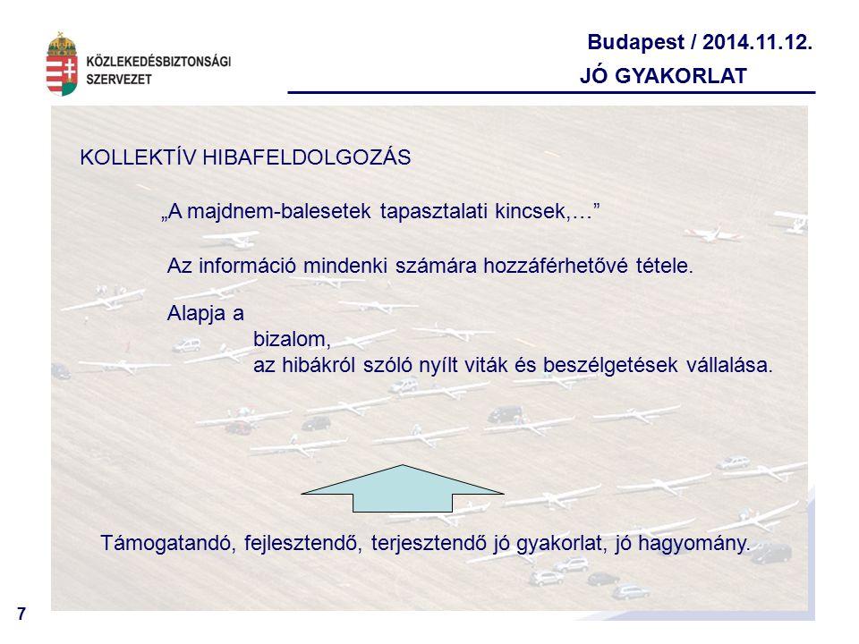 8 Budapest / 2014.11.12. PÁRHUZAMOS TERÜLETEK