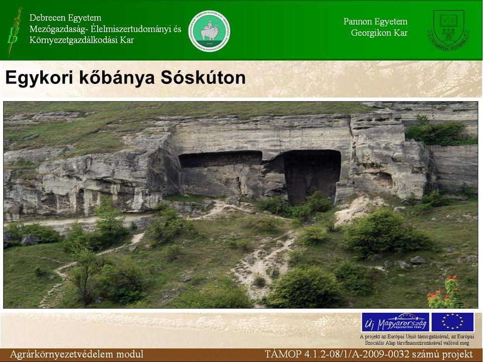 Egykori kőbánya Sóskúton