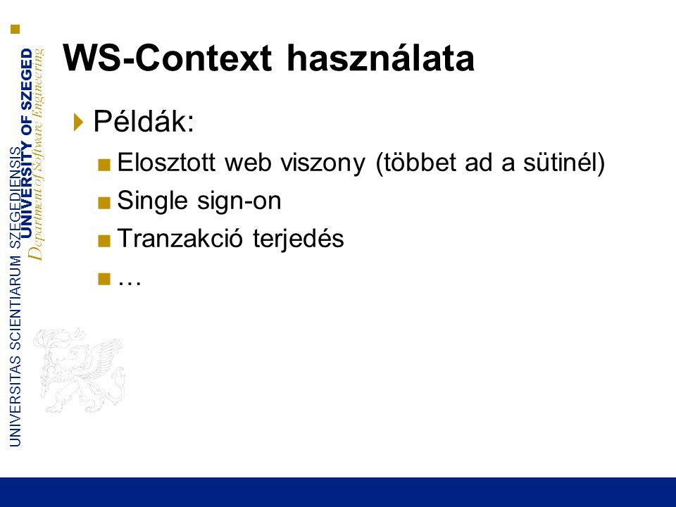 UNIVERSITY OF SZEGED D epartment of Software Engineering UNIVERSITAS SCIENTIARUM SZEGEDIENSIS Google Chubby / Yahoo Zookeeper  Zárolási információ sok apró fájlban  Ezek egy replikált adatbázisban vannak tárolva  Adatbázis: hibatűrő naplózó réteg felett: PAXOS  Cubby kliense a PAXOS vezérrel beszélnek (a replikált log olvasása/írása) 2015.