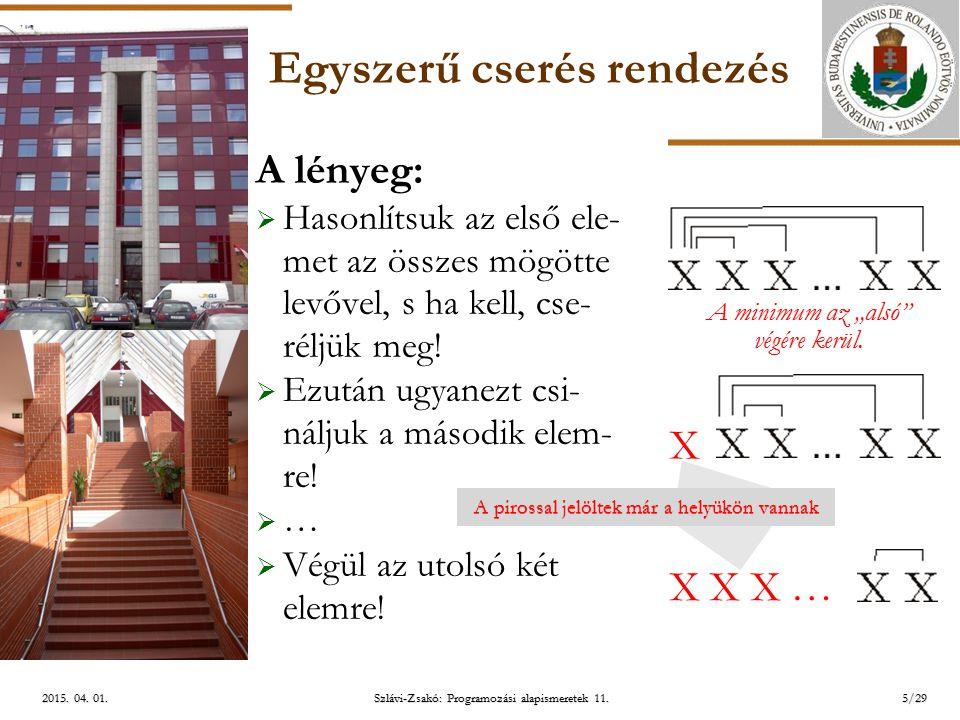 ELTE Szlávi-Zsakó: Programozási alapismeretek 11.5/292015.