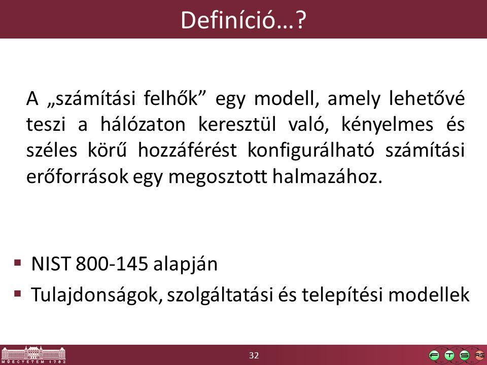 32 Definíció….