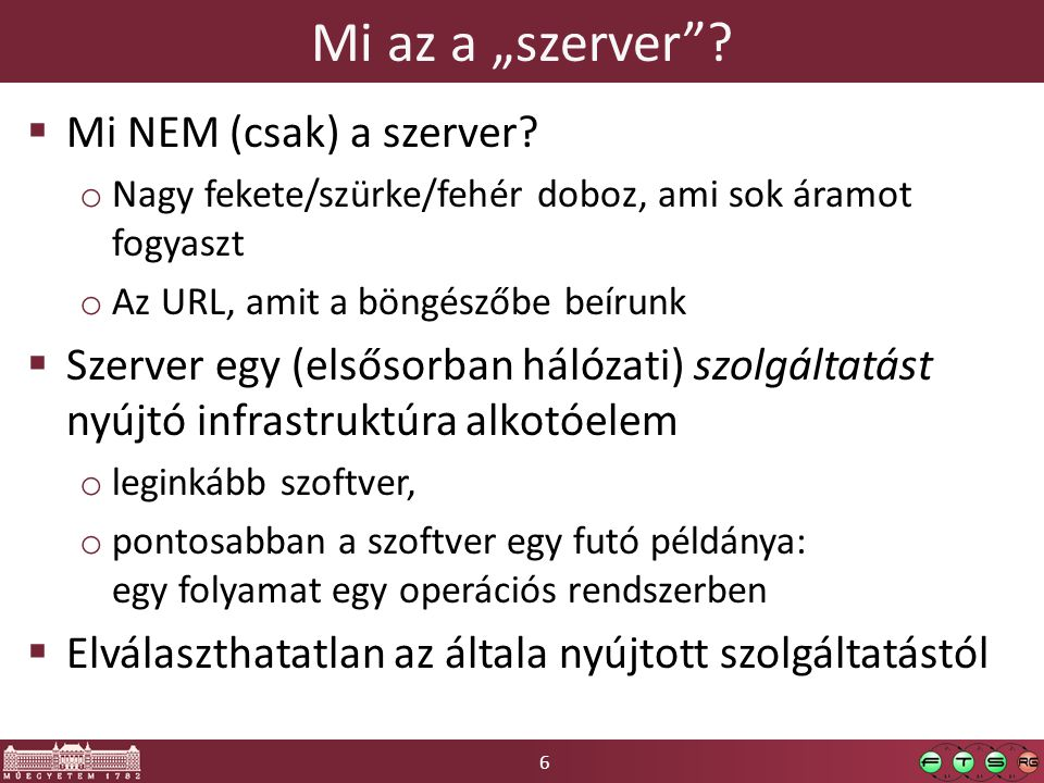 """6 Mi az a """"szerver . Mi NEM (csak) a szerver."""
