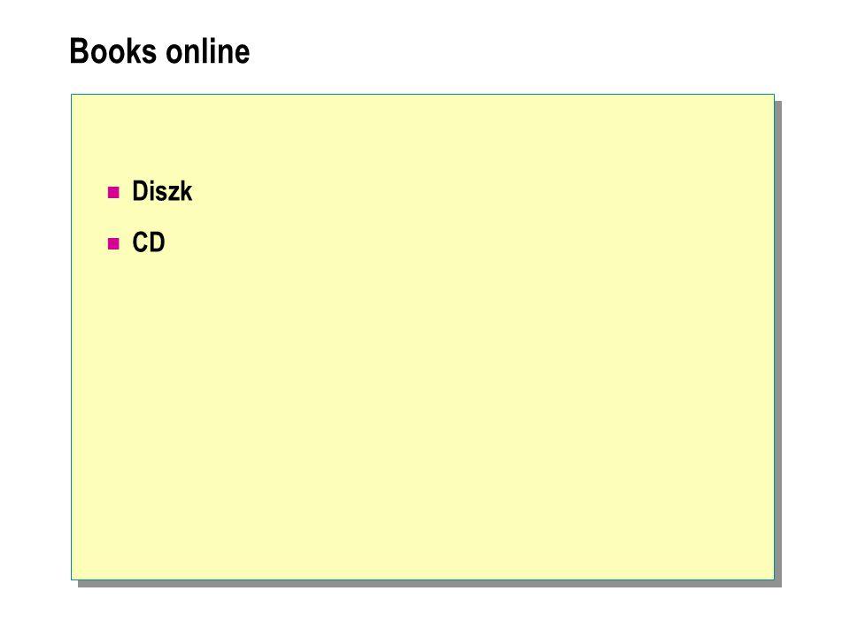 Books online Diszk CD
